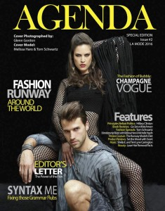 "COVER - AGENDA Special Edition 2 ""La Mode"""