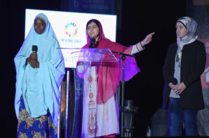 Activist Malala Yousafzai