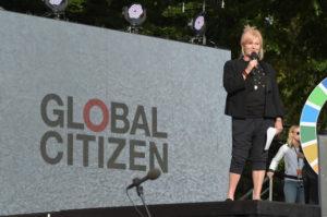 UK Parliament Secretary of State for International Development Justine Greening