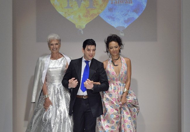 Malan Breton on the Runway