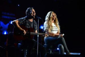 Beyonce and Eddie Vedder
