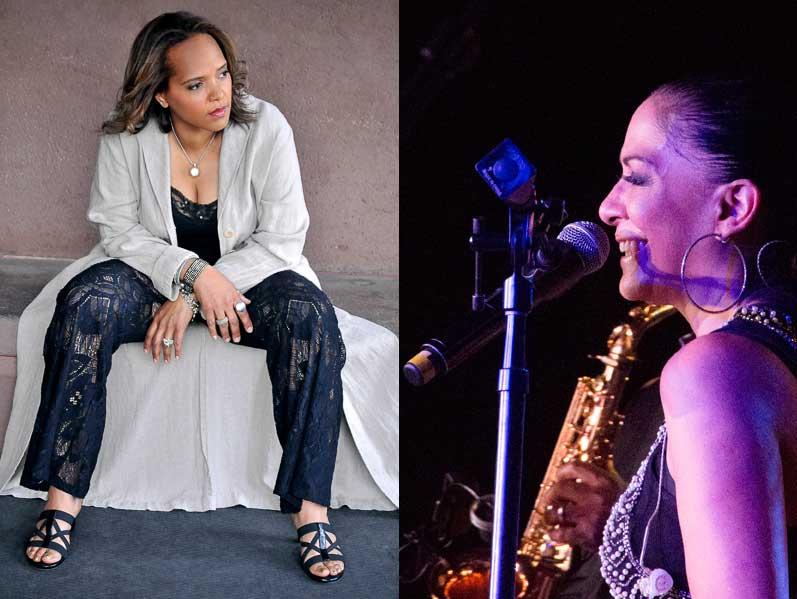 (L-R) Terri Lyne Carrington (Photo: Tracy Love); Sheila E. (Photo: Devino Tricoche