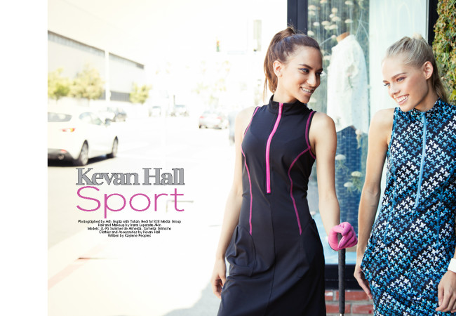 Kevan Hall Sport: Game On! Attire for Golfers and Active Fashionistas