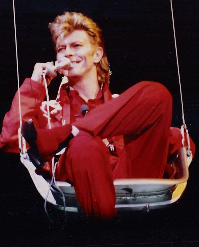 David Bowie by By Elmar J. Lordemann - Photo: Jo Atmon via Wikimedia Commons
