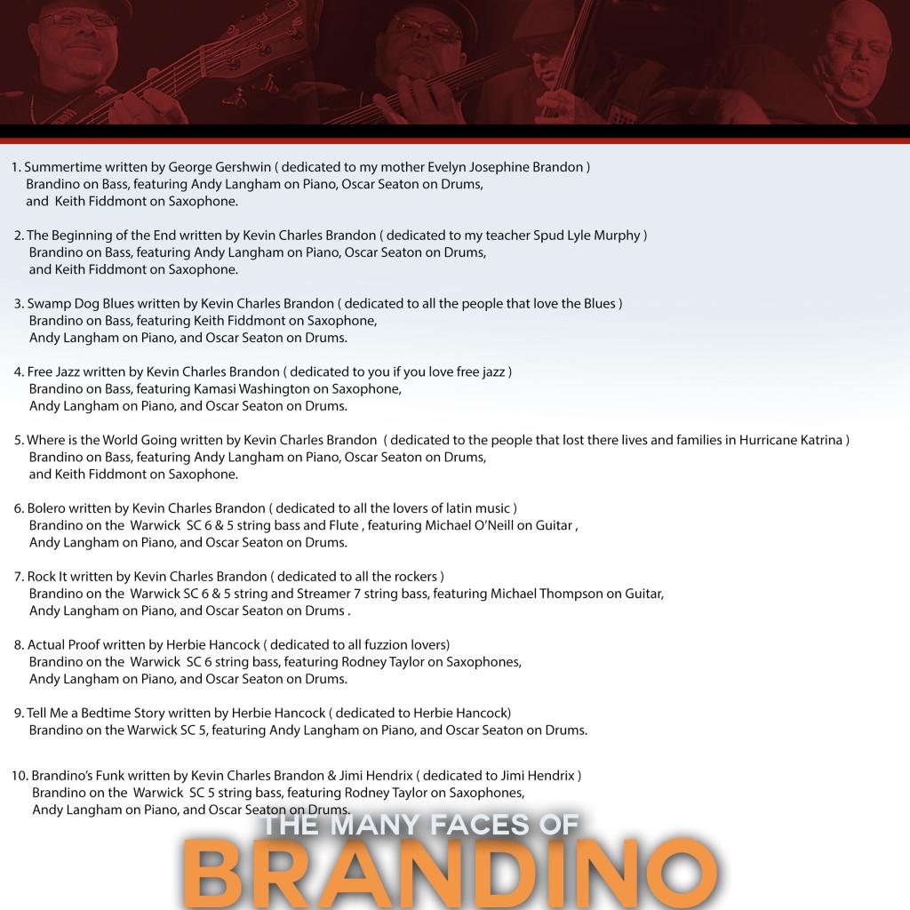 Brandino song credits
