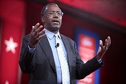 Ben Carson speaking at CPAC 2015 in Washington, DC.
