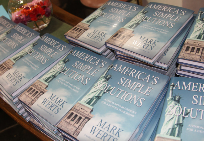 Book Launch and Interview – AMERICA'S SIMPLE SOLUTIONS: A VISIONARY'S BLUEPRINT FOR A BETTER TOMORROW