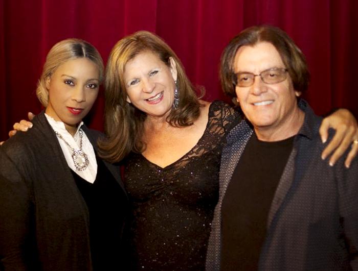 Kaylene Peoples, Sheryl Aronson and Bunny Brunel