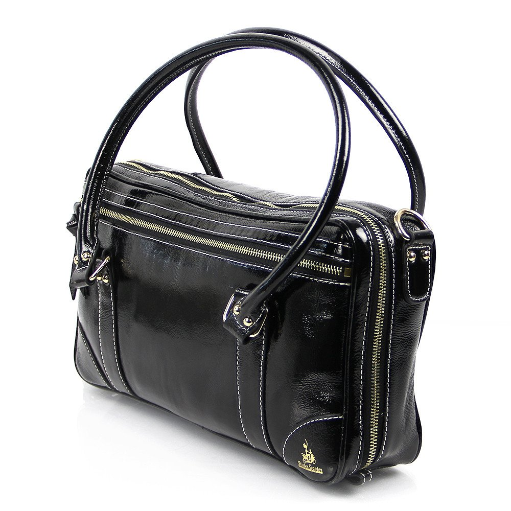 Black Patent Leather Oboe Bag