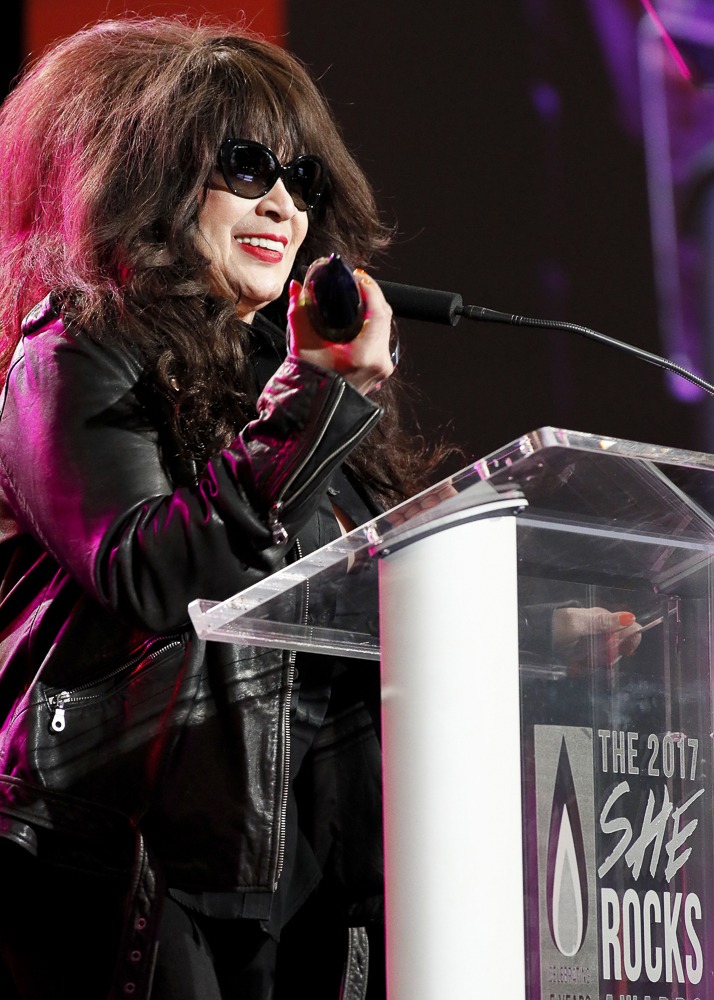 Ronnie Spector at She Rocks event January 2017