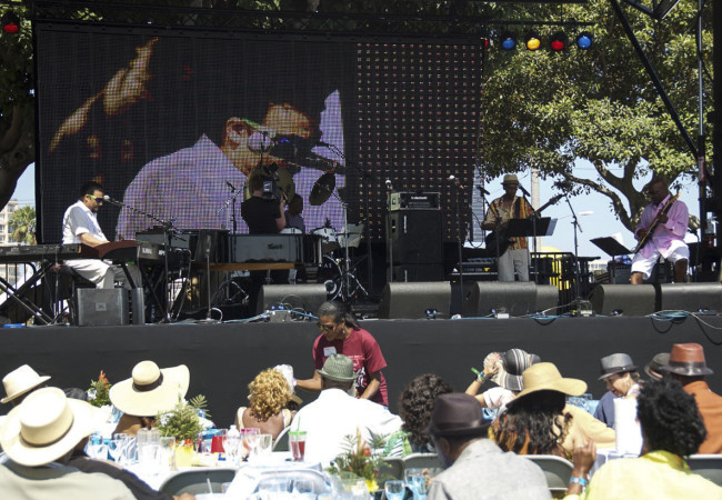 Bobby Lyle at the 30th Annual Long Beach Jazz Festival