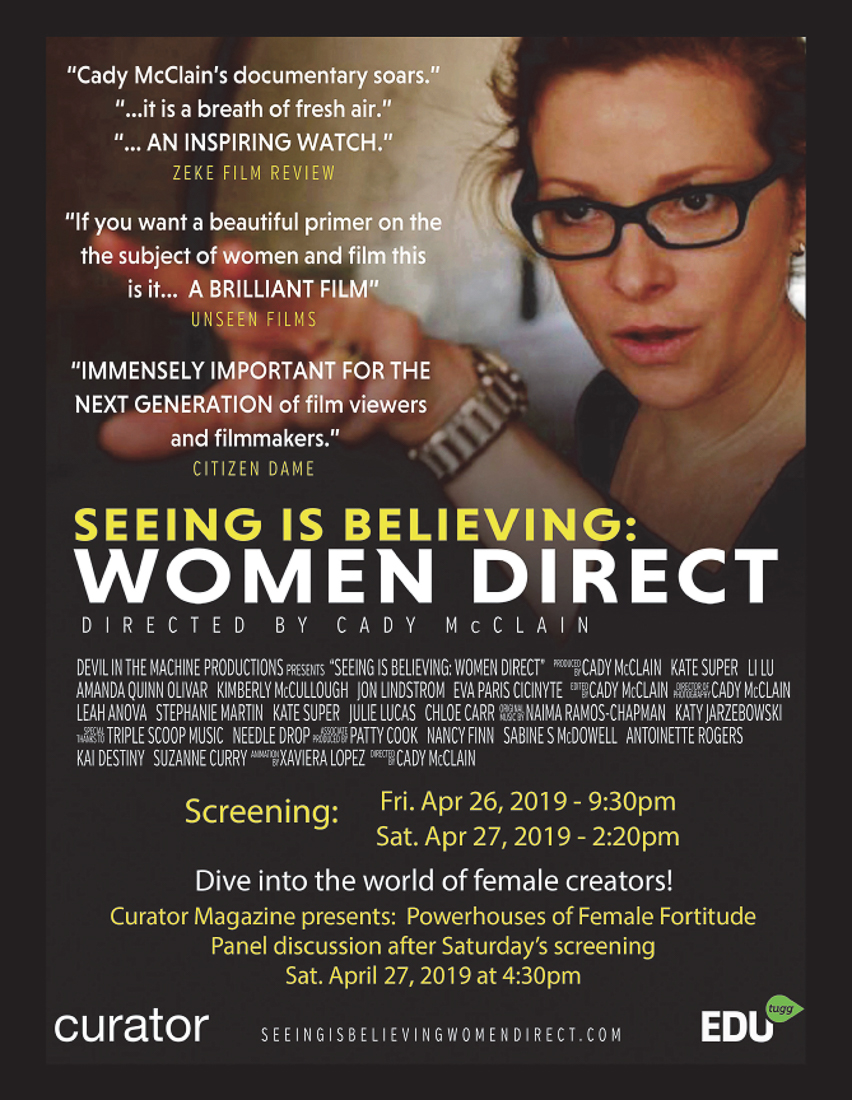 9f67c87ed12 Director Cady McClain s SEEING IS BELIEVING  WOMEN DIRECT on Making ...
